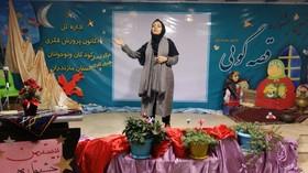 قصه گویی، ربابه هاشمی ، قصه گوی کانون مازندران