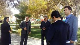 بازدید شهردار قوچان به همراه عضو شورای شهر از مرکز فرهنگی هنری قوچان