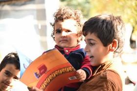 امداد فرهنگی کانون در مناطق زلزلهزده استان کرمانشاه 2
