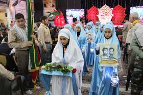 آثار اعضا کانون در کنگره ملی ۱۲ هزار شهید آذربایجانغربی
