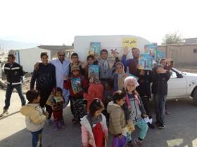 سفیران سرزمین خورشید در میان کودکان زلزلهزده کرمانشاه و سرپلذهاب