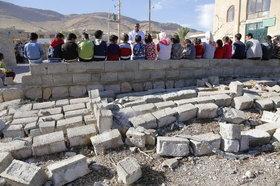 مربیان کانون لرستان و اردبیل هم به مناطق زلزلهزده کرمانشاه رفتند