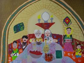 اثر برگزیده عضو کانون ابوموسی در مسابقه نقاشی هایوینکا