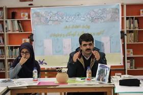 برنامه ادبی یک کتاب یک نویسنده با حضور مرتضی حاتمی به روایت تصویر