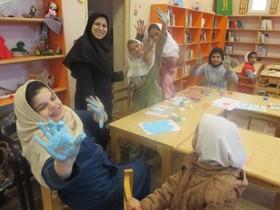 مرکز فراگیر و سیار کانون پرورش فکری آققلا میزبان کودکان بانیازهای ویژه در هفته وحدت