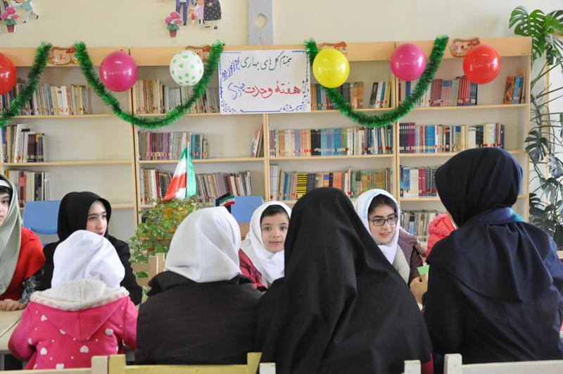 مرکز فراگیر کانون اردبیل میزبان کودکان استثنایی مدرسه امید