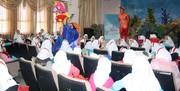 اجرای نمایش «ماهی رنگین کمان» در مرکز تاکستان شماره ۲