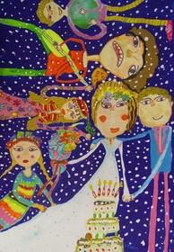 افتخار آفرینی کودک کرمانشاهی در مسابقات نقاشی فنلاند
