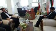 فرماندار بابل در دیدار با مدیر کل کانون پرورش فکری مازندران
