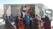 بهرهبرداری از کامیونت سیار کانون آذربایجانشرقی در مناطق زلزلهزده