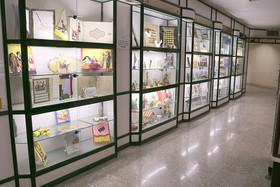 نمایشگاه آثار کودکان و نوجوانان در استانداری سمنان