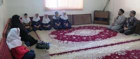 دیدار اعضای کانون با امام جمعه آوج
