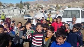 گزارش تصویری از تلاش همکاران استان مرکزی در مناطق زلزله زده کرمانشاه
