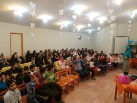 حضور بازیگران کودک سینما در مرکز 20 تهران