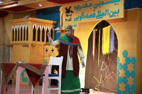کلیپ جشنواره قصه گویی حوزه چهارکشور.یزد-آذر