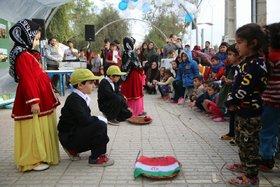 جشن شب یلدا در مناطق زلزلهزدهی غرب کشور