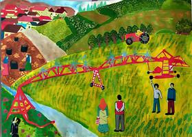 موفقیت ۳ عضو کانون استان اردبیل در سومین مسابقه نقاشی سازمان ملی بهرهوری ایران