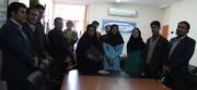 تقدیر از سرپرست مرکز کانون زبان استان کهگیلویه و بیوراحمد
