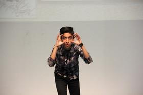 نوجوان تهرانی به مرحله پایانی جشنواره قصه گوی راه یافت / عکس از یونس بنامولایی