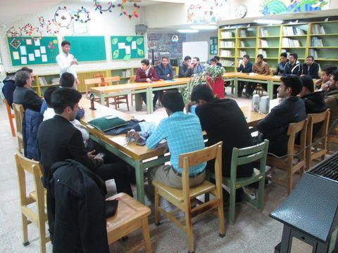 کارگاه قصه گویی برای دانشجویان دانشگاه فرهنگیان سبزوار