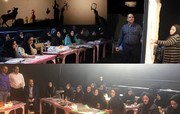 """دوره آموزشی تخصصی""""نمایش سایهای"""" دریزد برگزار شد"""