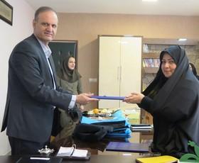 امضای تفاهم نامه بین کانون استان قزوین و اداره کل استاندارد