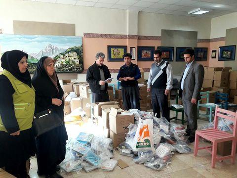 امداد فرهنگی در مناطق زلزله زده ادامه دارد