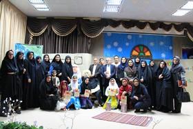 اولین جشنواره حوزهای قصهگویی شمال فارس برگزار شد
