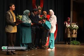 عسل اعظمی برگزیده کشوری بیستمین جشنواره بین المللی  قصهگویی