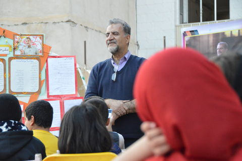شاعر صد دانه یاقوت، میهمان ویژه اعضای کانون سرپل ذهاب