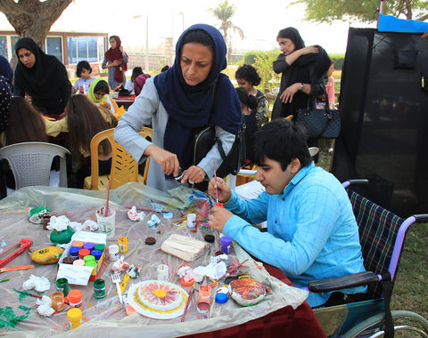 جشنواره کودک باهمکاری کانون در بندرعباس