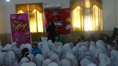 برگزاری ویژه برنامه ولادت حضرت زینب (س) و روز پرستار توسط مرکز فرهنگی هنری گناوه