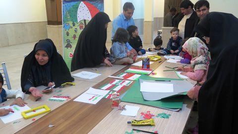 فعالیتهای فرهنگیهنری کانون استان قزوین به مناسبت دههی مبارک فجر