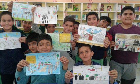 فعالیتهای فرهنگیهنری کانون استان مرکزی به مناسبت دههی مبارک فجر