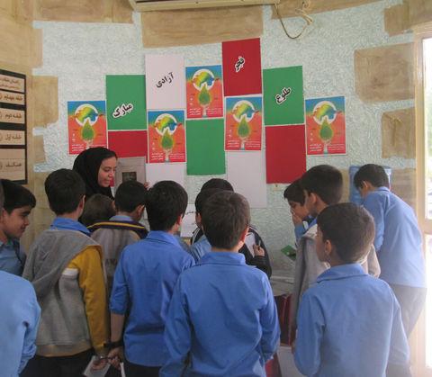 نمایشگاه دستاورهای پژوهشی اعضا و مربیان مراکز کانون استان هرمزگان