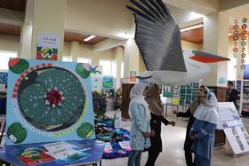 گشایش نمایشگاه فعالیتهای زیست محیطی در کانون انزلی