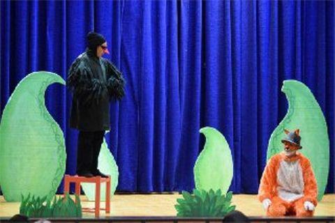 نمایش «روباه دم زنگوله» بر صحنه سینما کودک کانون