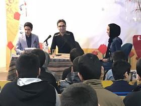 نویسنده کتاب«شب چهل و یکم» میهمان اعضای کانون ۱۵ تهران شد