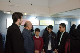 نمایشگاه«نمنم باران» افتتاح شد
