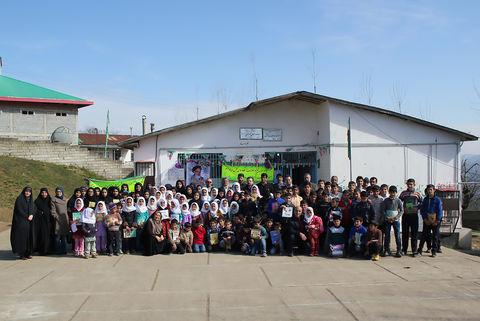 """دومین اردوی جهادی""""طرح یک مسؤول یک مربی"""" در کانون مازندران برگزار شد"""