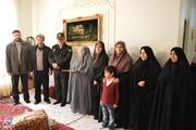 تجلیل از خانواده خردسالترین شهید انقلاب در استان کرمانشاه