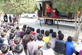 نخستین کامیونت تئاتر سیار کانون بوشهر راهاندازی شد