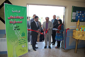 نمایشگاه استانی دست سازه ها در محمودآباد افتتاح شد