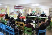 نشست صمیمی مدیر کل استان با اعضای نوجوان مراکز در مرکز 25 / عکس از یونس بنامولایی