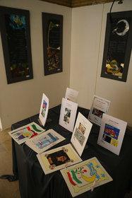 آثار اعضا و مربیان مراکز کانون استان تهران در نمایشگاه «تماشای حضور»