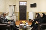 یدار مدیرکل کانون پرورش فکری سیستان و بلوچستان با وزیر آموزش و پرورش