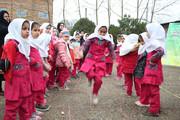 جشنواره بازی های بومی محلی در روستای آلو کنده نکا