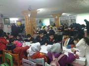 جشنواره نقاشی با موضوع انقلاب در چالوس