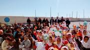دانش آموزان شهر سر جنگل میزبان کتابخانهی سیار کانون پرورش فکری سیستان و بلوچستان