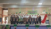 حضور مدیرکل کانون پرورش فکری سیستان و بلوچستان در جشن نوآموزان